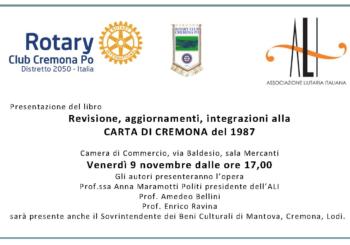 Presentazione della Carta di Cremona