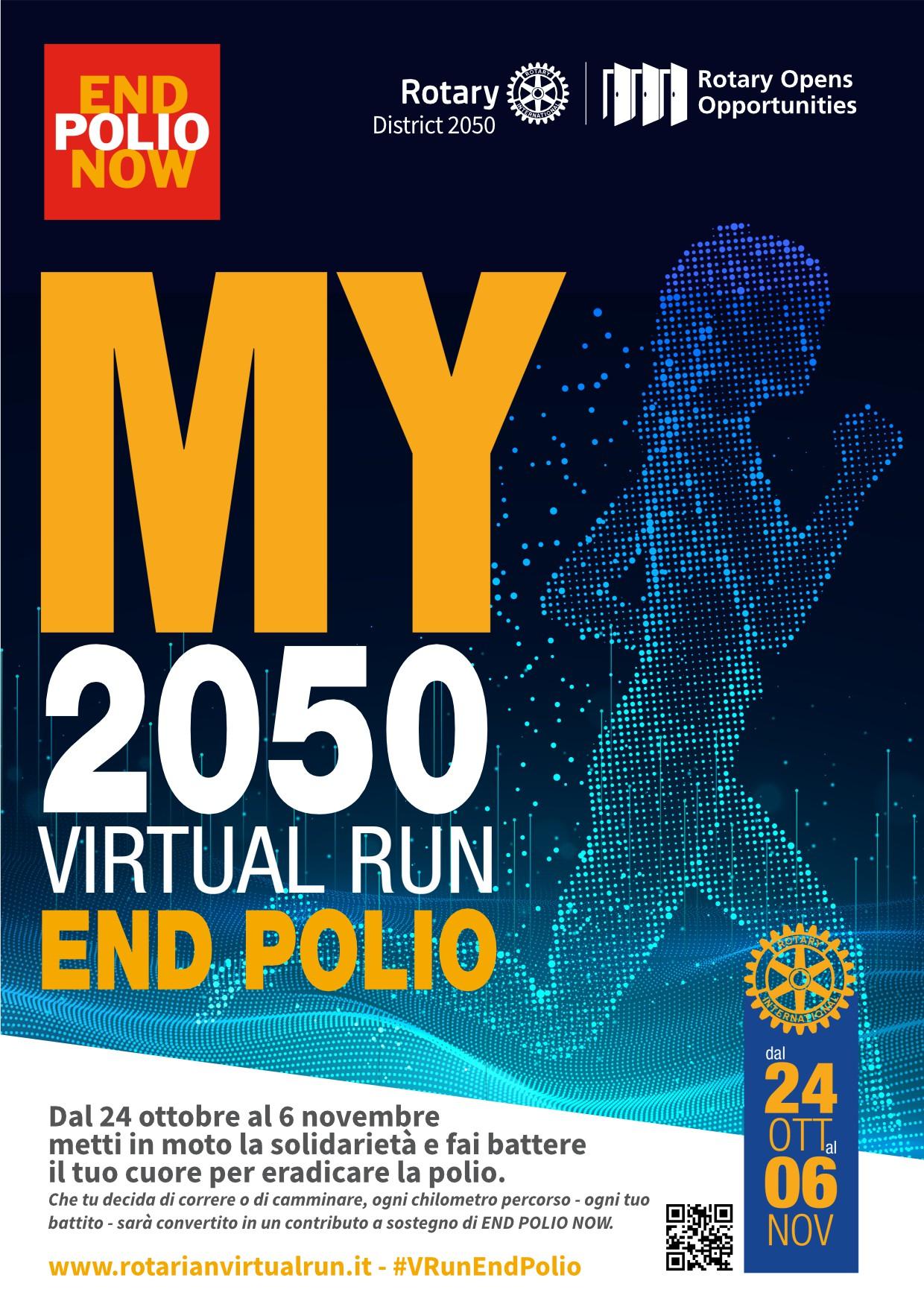 MY 2050 VIRTUAL RUN END POLIO